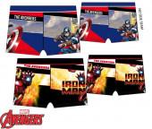 Calção Banho Boxer Avengers Colorblock Sortido