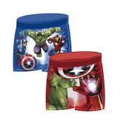 Calção Banho Boxer Avengers Sortido