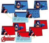 Calção Banho Boxer Capitão América Avengers Sortido