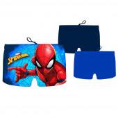 Calção Banho Boxer Spiderman Blue Sortido
