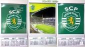 Calendário de Parede Sporting