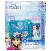Câmara + bolas sabão Frozen Disney