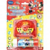 Câmara fotos + tubo Bolas de sabão Mickey Disney