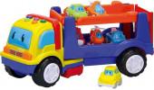 Camião + 6 Carros com Luz e Som