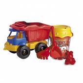 Camião balde praia  Faísca Cars