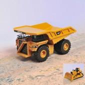 Camião Construção Metal 2 Sort. 17 Cm CAT