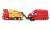Camião de Reboque a Rebocar Carrinha Siku