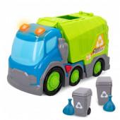 Camião do Lixo com Luz e Som