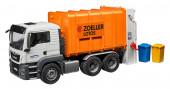 Camião lixo laranja MAN TGS