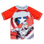 Camisola Banho Capitão América Marvel