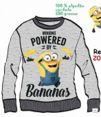 Camisola Sweat Minions Disney