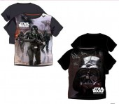 Camisola T-Shirt Star Wars sortido