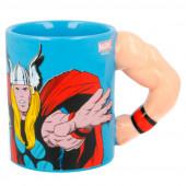 Caneca 3D Braço Thor