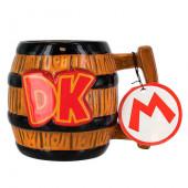Caneca 3D Donkey Kong Super Mario