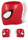 Caneca 3D plástico Spiderman