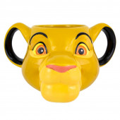Caneca 3D Rei Leão Simba
