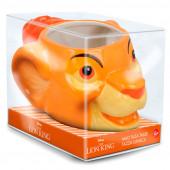 Caneca 3D Simba O Rei Leão