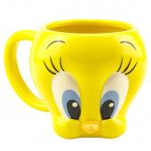 Caneca 3D Tweety Looney Tunes