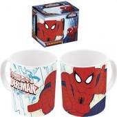 Caneca cerâmica 360 ml Spiderman Marvel
