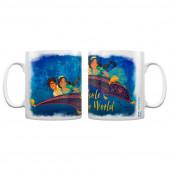 Caneca Cerâmica Aladino A Whole New World