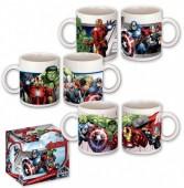 Caneca Cerâmica Avengers com caixa Sortido