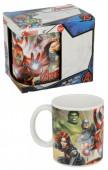 Caneca Cerâmica Avengers Marvel 360ml