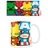 Caneca Cerâmica Avengers Marvel