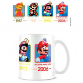 Caneca Cerâmica Datas Super Mario