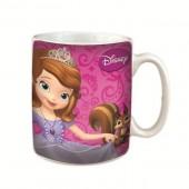 Caneca cerâmica Disney Princesa Sofia c/ caixa oferta
