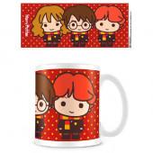 Caneca Cerâmica Harry Potter Friends Chibi
