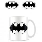 Caneca Cerâmica Logo Batman DC Comics 315ml