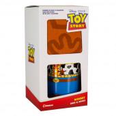 Caneca Cerâmica + Meias Woody Toy Story