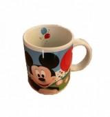 Caneca Cerâmica Mickey e Minnie Disney com caixa 320ml