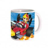 Caneca Cerâmica Mickey Super Pilotos