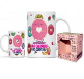 Caneca Cerâmica Mr Cool Donuts