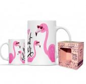 Caneca Cerâmica Mr Cool Flamingo Moment of Summer