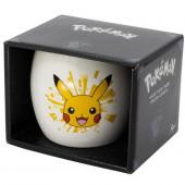 Caneca Cerâmica Pokémon Pikachu 380ml