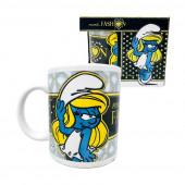 Caneca Cerâmica Smurfs - Smurfina