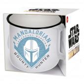 Caneca Cerâmica Star Wars The Mandalorian Hunter 400ml