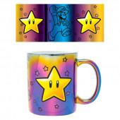 Caneca Cerâmica Super Mario Star