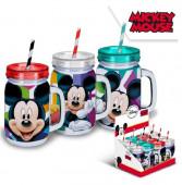 Caneca com Palhinha do Mickey Mouse