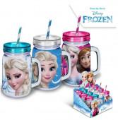 Caneca com Palhinha Frozen Disney