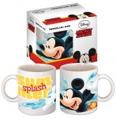 Caneca de porcelana do Mickey Mouse