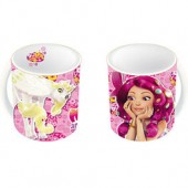 Caneca Mia and Me Porcelana