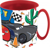 Caneca Microondas Cars Race Ready 350ml