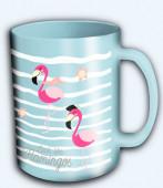 Caneca Microondas Flamingo