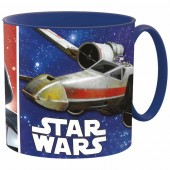Caneca microondas plástico Star Wars Disney