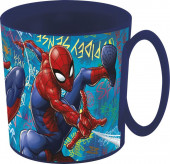 Caneca Microondas Spiderman Grafitti