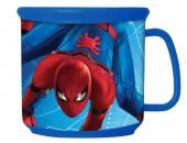 Caneca plástico 350 ml Spiderman