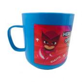 Caneca Plástico Hero PJ Masks 360ml